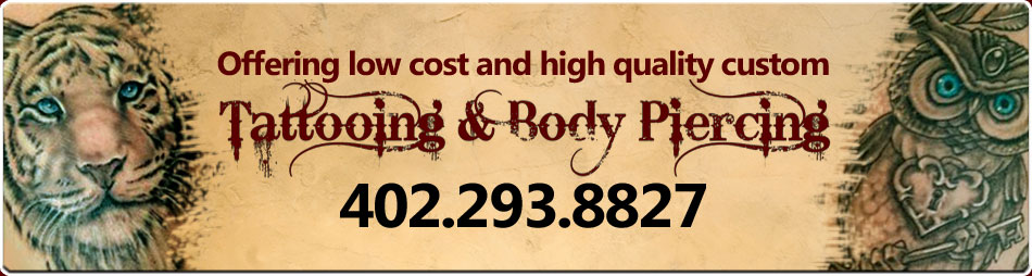 Omaha Tattoos and Body Piercing